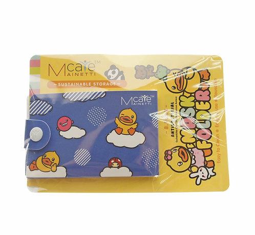 MainettiCare x B Duck Antibacterial Mask Folder 抗菌口罩夾(藍色)