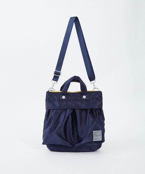 Anello - Sabrina系列 手提側揹 兩用迷你斜揹袋 輕便 多分格 ATT0505 - 深藍色