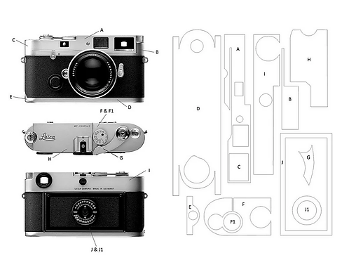 Camera King Design - MGR Protective Wrap for Leica M6