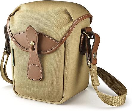 72 Mini Camera Bag - Khaki Canvas/Tan Leather 500133-70