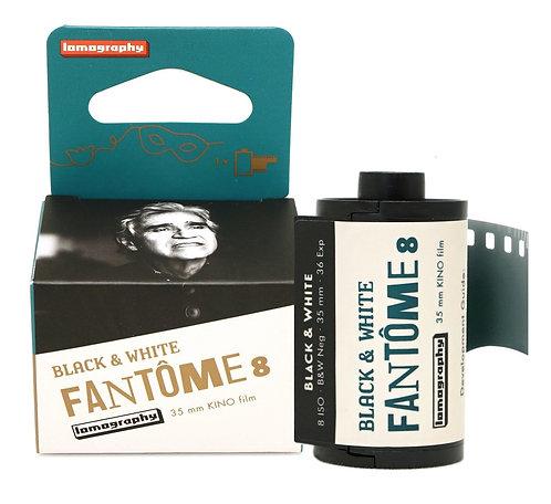 Fantôme Kino B&W ISO 8 35mm Film