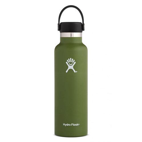 21 oz 標準開口 中型SIZE 方便易携 暖水瓶 -橄欖綠