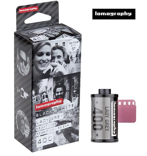 Lomography Black & White Lady Grey 400 35mm (3 Rolls)