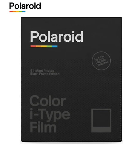Polaroid i-Type Color Instant Film (BLACK FRAME)