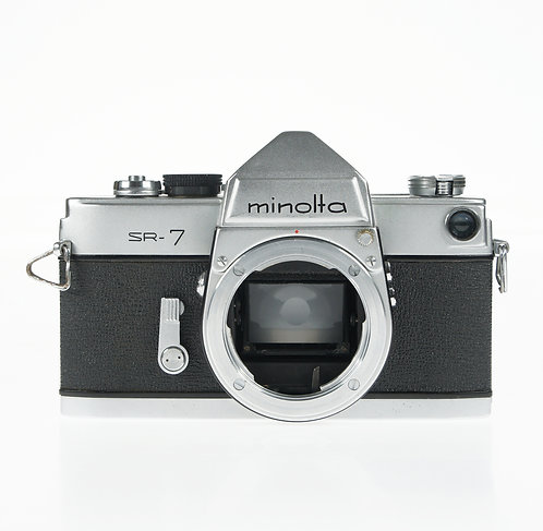 Minolta SR-7 SLR 35mm Film Camera Body