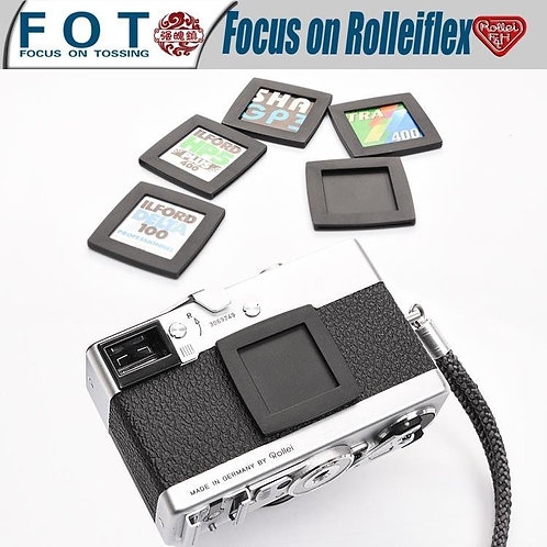 Film & ISO Record Frame for Rollei Rolleiflex Leica Fujifilm Rolleicord Camera