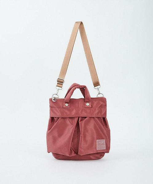 Anello - Sabrina系列 手提側揹 兩用迷你斜揹袋 輕便 多分格 ATT0505 - 粉紅色