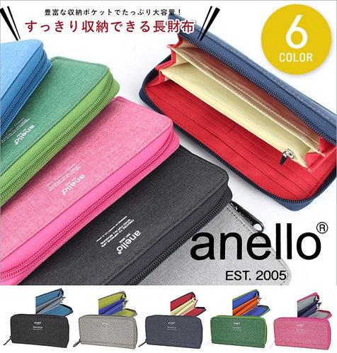 [Anello]高密度纖維耐熱布料長錢包 AU-H1153