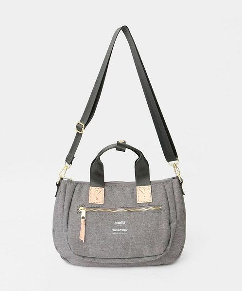 Anello - 雙用式迷你手挽側揹袋 AT-C3163LGY - 灰色