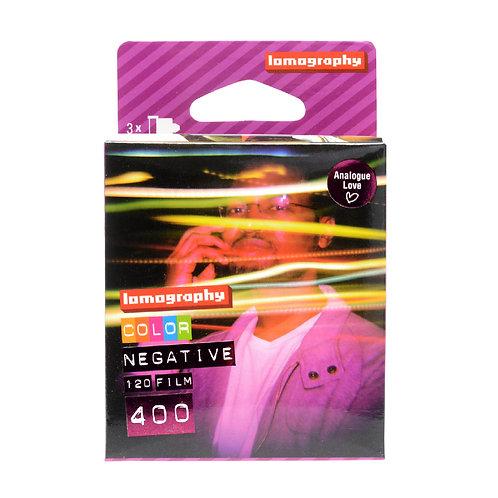 Lomography Color Negative 120 ISO 400 (3 Rolls)