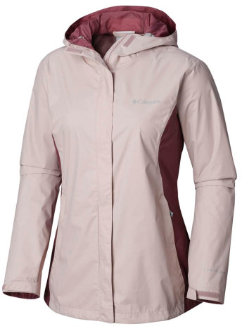 WOMEN'S ARCADIA II JACKET - MINERAL PINK ANTIQUE MAUVE