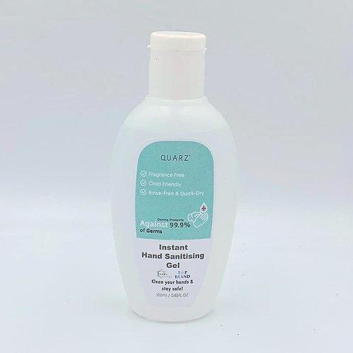 QUARZ 馬來西亞製造 免沖洗消毒 100ml 醫用天然殺菌99.9% 無香料添加搓手液 (KKM認証)