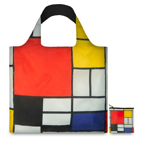 LOQI MUSEUM COLLECTION - Piet Mondrian Composition Red Yellow Blue Black