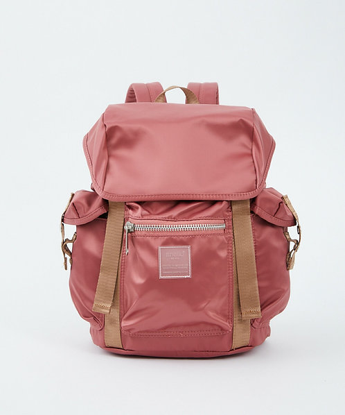 Anello - Sabrina系列 揭蓋防水尼龍背包 輕便 多分格 ATT0506 - 粉紅色