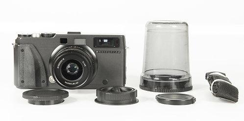 Hasselblad Xpan II 35mm Rangefinder Film Camera + 45mm Lens + Hood #13256