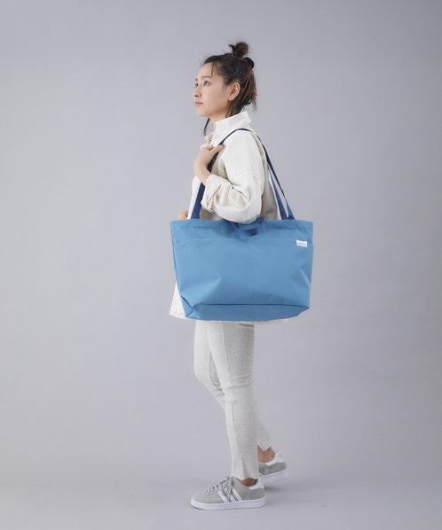 Anello - TOY TOTE系列 輕便大容量 防潑水 側揹/手提袋 ATT0592(藍色)