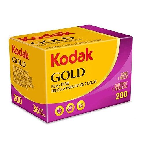 Kodak Gold 200 36exp 35mm Color Negative Film