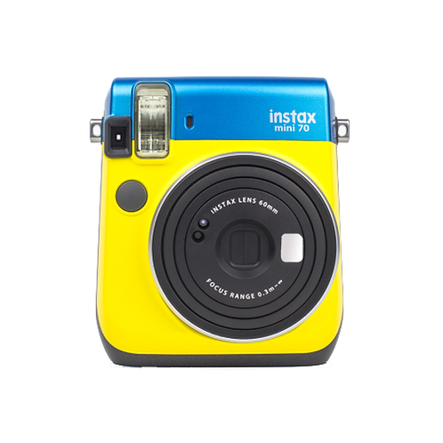 Fujifilm instax mini 70 Instant Camera Blue/Yellow
