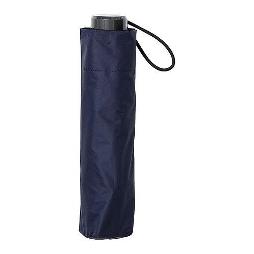 estaa - 防風 晴雨兼用 日傘 - 深藍/耐風骨折りたたみ日傘 - ネイビーブルー
