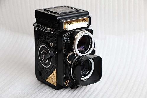 Camera King Design - LANGDSEA - Rolleiflex Bay-3 UV Filter + Lens Hood Set