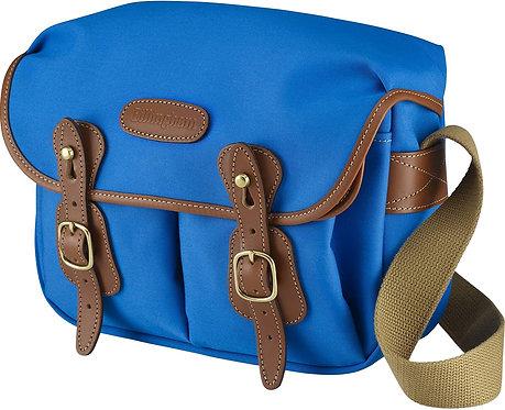 Billingham Hadley Small Camera Bag (Imperial Blue Canvas/Tan Leather) 503303-70