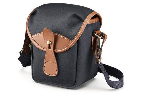 72 Mini Camera Bag - Black Canvas / Tan Leather 500101-70