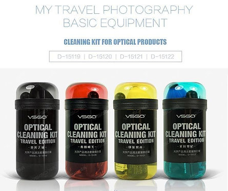 VSGO - Optical Cleaning Kit Travel Edition with Case - Black