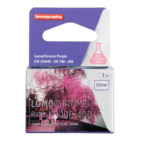Lomography LomoChrome Purple XR 100-400 ISO 135-36 Film