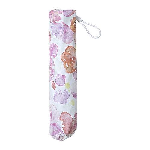 estaa - 輕量 晴雨兼用 日傘 - 花球 粉紅/ブーケ レッド