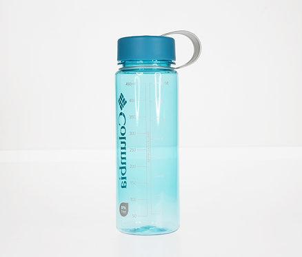 Logo純色標誌性簡約水樽 650ml- 粉藍色
