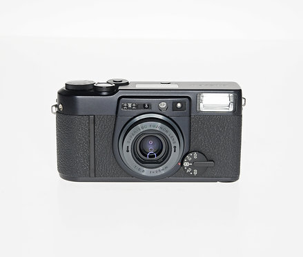 Fujifilm KLASSE W Black Point & Shoot 35mm Film Camera