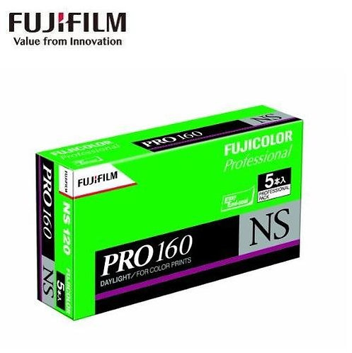 Fujifilm Fujicolor PRO 160 NS 120 Medium Format Film