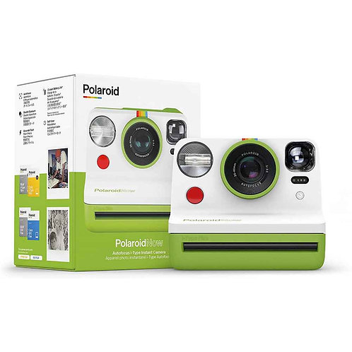 Polaroid Now i‑Type Instant Camera - Green (With FREE Film)