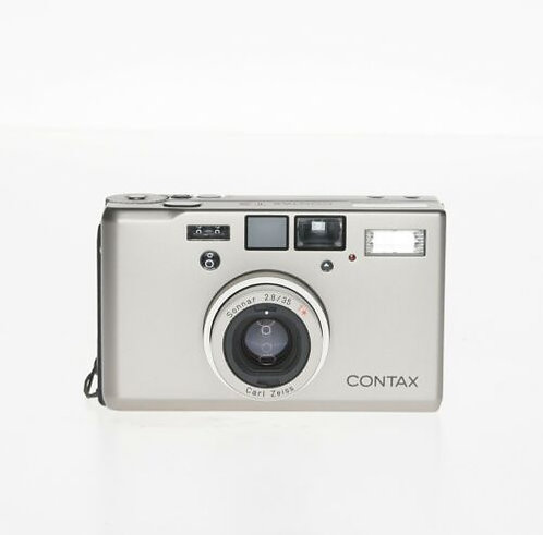 Contax T3 Silver Point & Shoot 35mm Film Camera