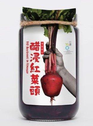 二澳農作社 -  二澳醋浸紅菜頭 - 300g