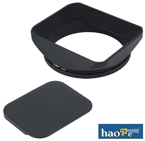 haoge - 67mm Metal Lens Hood + Cap for Nikon 35mm f1.4G Lens
