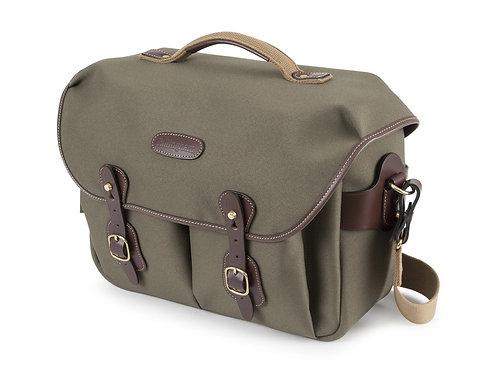 Billingham Hadley ONE Camera Bag - Sage FibreNyte / Chocolate Leather