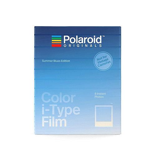 (Expired Discount)  Polaroid Originals Color i-Type Film Summer Blues Edition