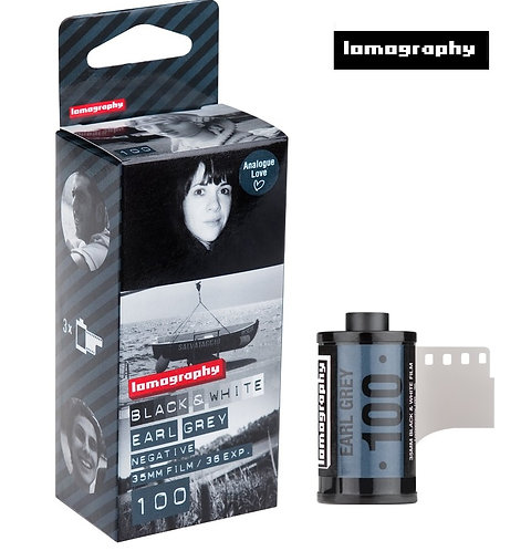 Lomography Earl Grey B&W 100 35mm Negative Film (3 Rolls)