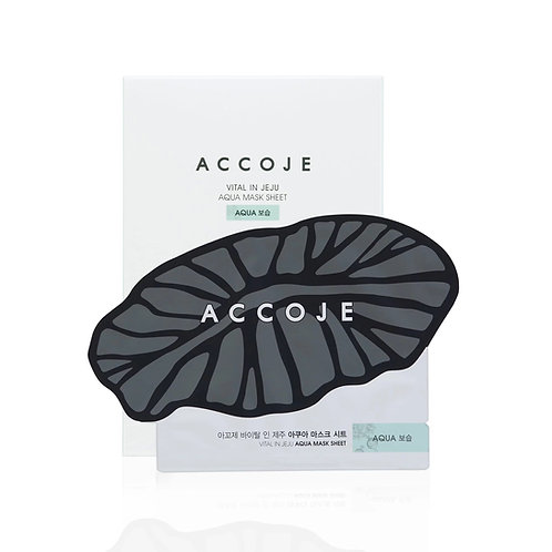 Accoje Vital in Jeju Aqua Mask 22ml *8pcs