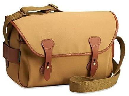 Billingham S4 Camera Bag (Khaki Canvas/Tan Leather) 501633-70
