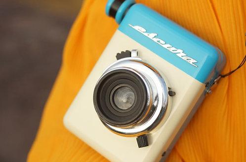 Escura 60s Hand-powered Instant Camera (Use Fuji Instax Mini Film)