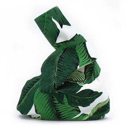 benben - 日式御結手挽包-夏日綠芭焦