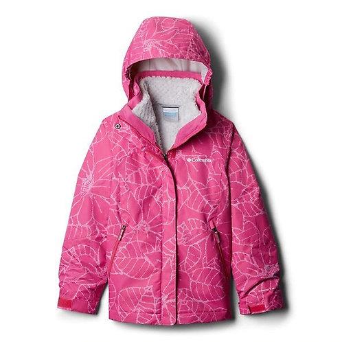 Girls' Bugaboo™ II Fleece Interchange Jacket - Pink Ice Floral