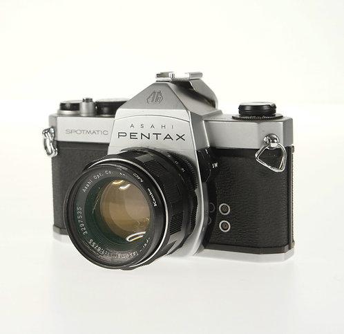 Ashahi Pentax Spotmatic 35mm SLR Film Camera