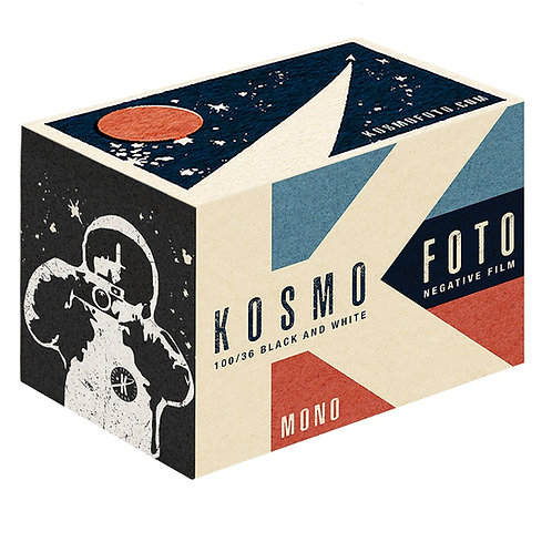Kosmo Foto Mono 100 ISO 35mm Black & White Negative Film (36exp)