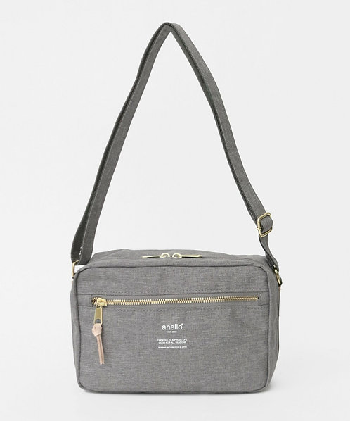 Anello - 輕巧休閒雙用式手挽側揹袋 AT-C3164LGY 灰色