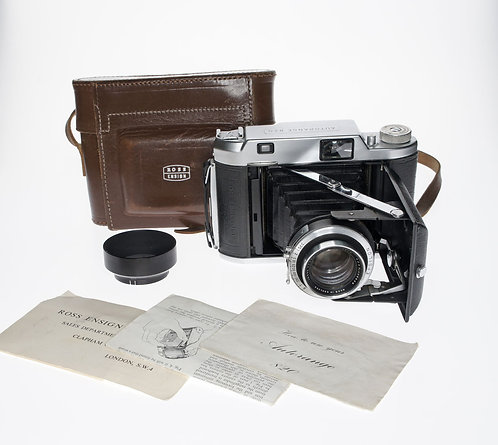 Ensign AUTORANGE 820 Folding 6x9 Film Camera with Pouch