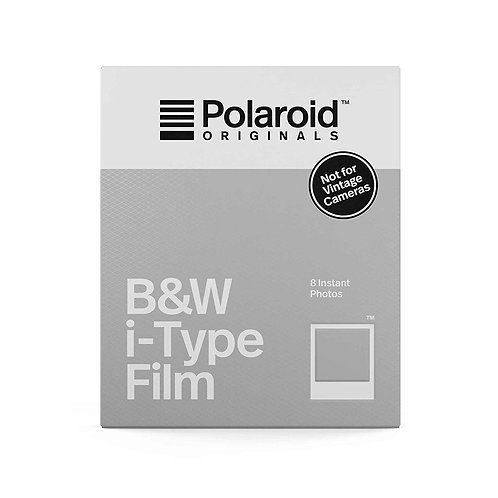(Expired Discount) Polaroid Originals Black & White i-Type Instant Film