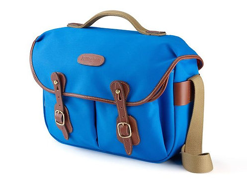 Billingham Hadley Pro Camera Bag (Imperial Blue Canvas / Tan Leather) 505203-70